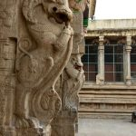 minakshi temple, yali