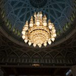 The biggest chandelier in the world.