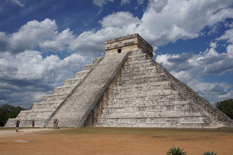 Kukulcán-Pyramid, Chichen Itza